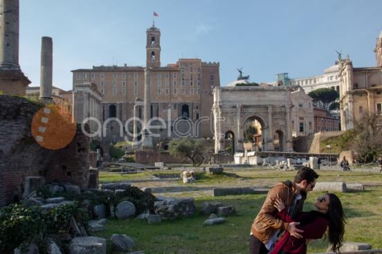 Rodolfo & Hudily - Noivado em Roma